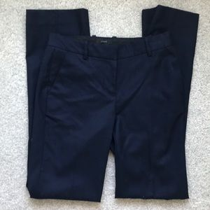"Jcrew ""Perfect Fit"" Navy Wool Business Pants"